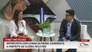 ADAILTON SOUSA e LUANA OLIVEIRA são os entrevistados de LUIZ CARLOS FOCCA de hoje