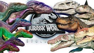 6 ИНДОРАПТОРОВ против ВСЕХ ХИЩНЫХ ДИНОЗАВРОВ Jurassic World Evolution