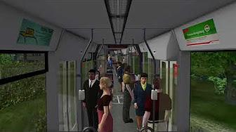Omsi 2 Map Gladbeck V6 Linie 302 Tram #22 | aka VIDEOS