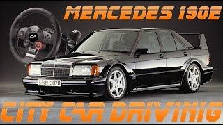 City Car Driving na Logitech DFGT - Mercedes 190E W201