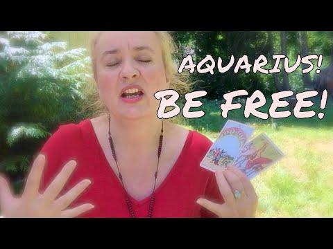 FREE AS A BIRD, AQUARIUS! August 2017 Tarot Reading (celtic cross)