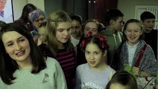 Ангелы СВЕТА. Открытие Выставки Ольги Шмыковой Ижевск Филармония 1 февраля 2018.