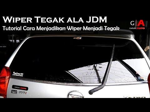 Modifikasi Wiper Tegak JDM Style All New Xenia dan Avanza