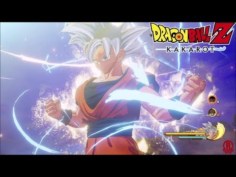 Dragon Ball Z: Kakarot - Mastered Ultra Instinct Goku Gameplay & Transformations [1080p 60fps]