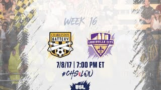 Charleston Battery vs Louisville City FC full match