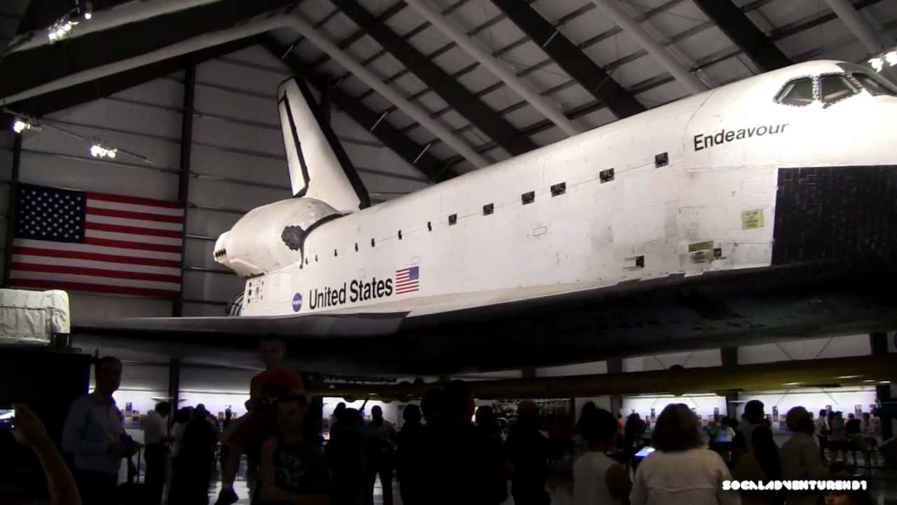 Close-up Look of Space Shuttle Endeavour at California ...