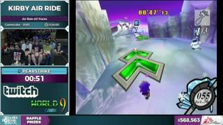 Kirby Air Ride by Pearstrike in 20:09 - SGDQ 2016 - Part 146