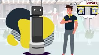 KITAU Robotics - Retail Robot (E-Bot)