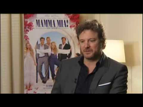 Mamma MiaColin Firth on Harry and Darcy Similarities, Hormones and Girls' Party