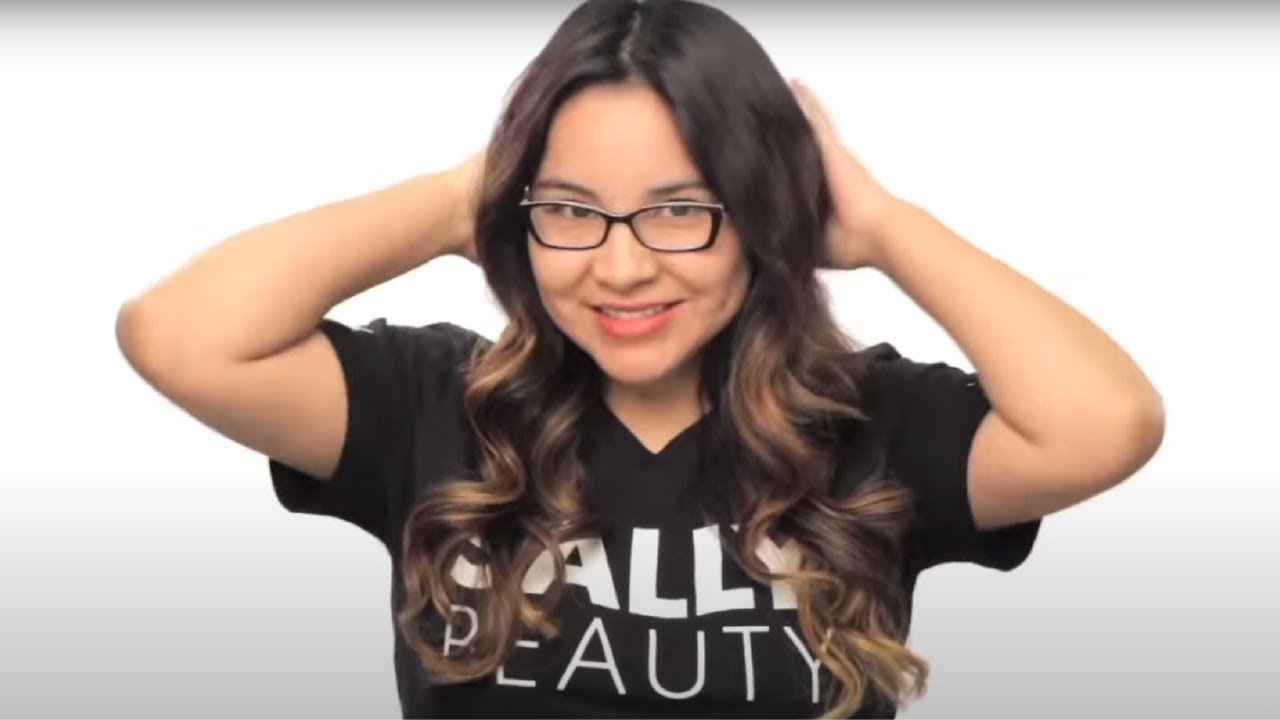 Get Tiger Eye Hair Color With Sally Beauty Youtube