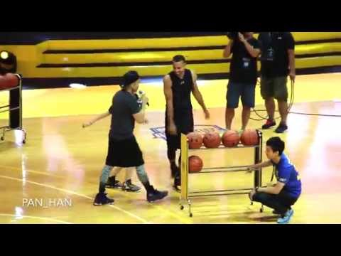 Stephen Curry ASIA TOUR In Taipei - Three Point