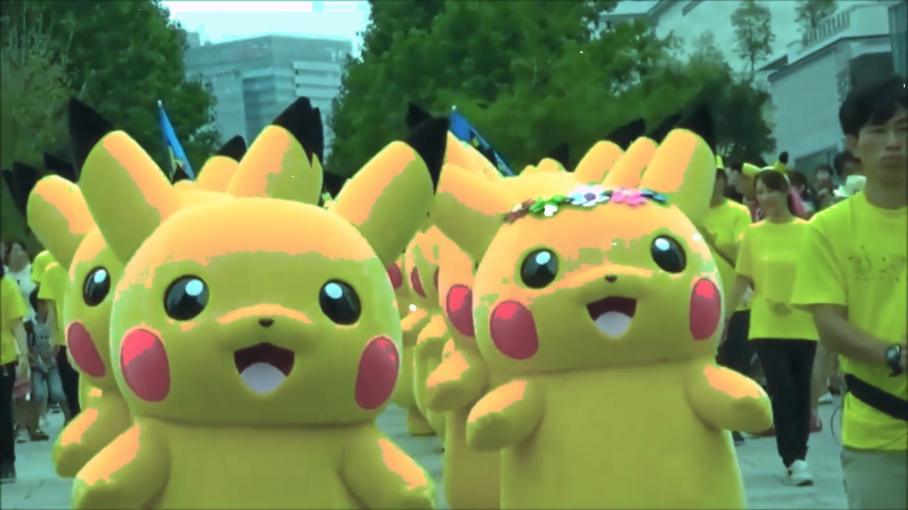 Pikachu army marches into the motherland