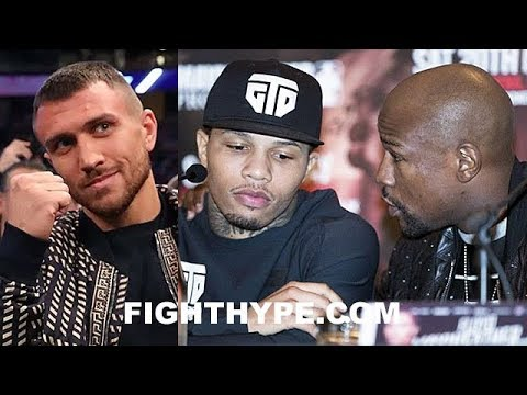 GERVONTA DAVIS REACTS TO MAYWEATHER ANNOUNCING LOMACHENKO FIGHT NEXT; TROUBLE IN PARADISE?