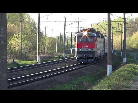 Электровоз ЧС7-264 с поездом №094Й Москва-Пенза