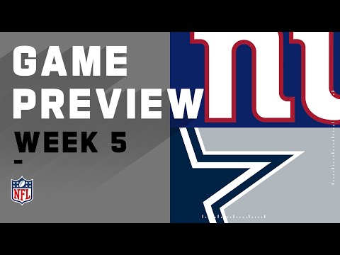 New York Giants vs. Dallas Cowboys | NFL Week 5 Game Preview