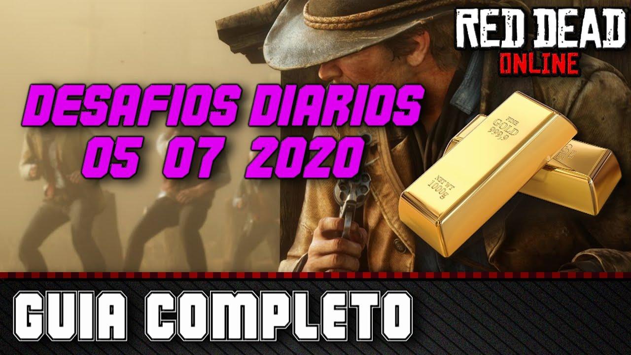 Desafios Diários - Red Dead Online 05/07/2020