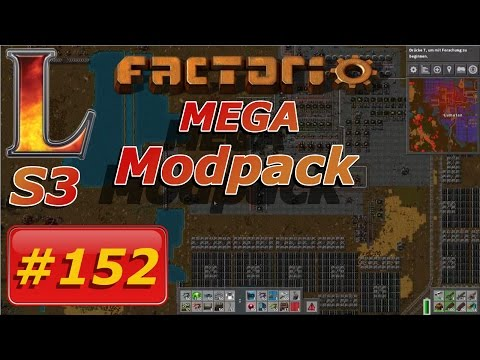 Factorio Mega Modpack #152 | Let's Play Deutsch | Der Solar AP