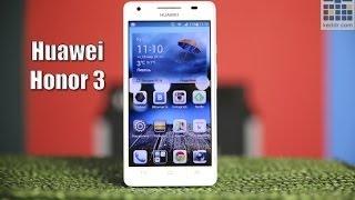 Huawei Honor 3 - обзор смартфона от Keddr.com