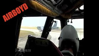 B-52 Takeoff And Landing - Cockpit View