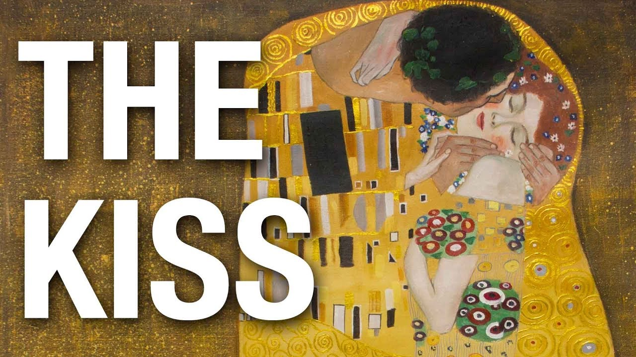 The Kiss Gustav Klimt Oil Painting Reproduction On Canvas Youtube