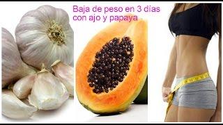 Cómo bajar de peso en 3 días con ajo y papaya(, 2016-10-04T22:51:15.000Z)