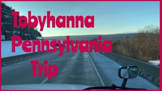 Trip to Tobyhanna, PA |  challenging day & snow day