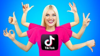 TESTING VIRAL TIK TOK CHALLENGES || See if Work Tiktok Hacks and Tricks by RATATA