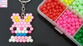 DIY Key Ring / DIY Key Chain with Water Spray Magic Beads kit