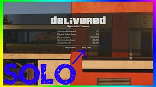 The Easiest & Fastest Way To Make Money SOLO In GTA 5 Online [PS4, X1, PC]