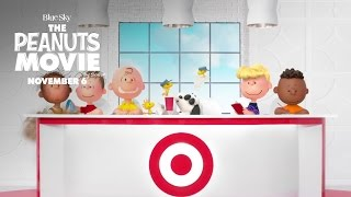 The Peanuts Movie | #PeanutsAtTarget Commercial [HD] | FOX Family