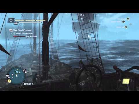 Assassin's Creed 4 - Naval Contract - The Final Contract Walkthrough