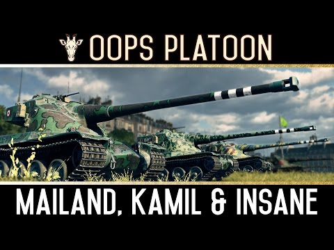 World of Tanks | [ENG] OOPS Yolo Platoon - Part 1/4