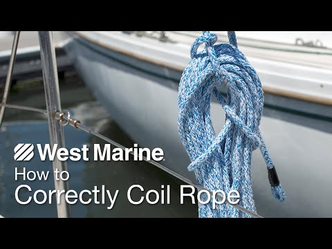 How To Correctly Coil Rope - YouTube
