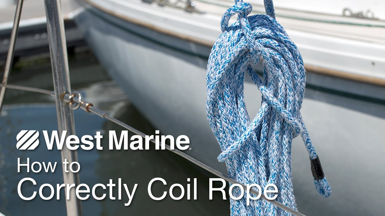 How To Correctly Coil Rope
