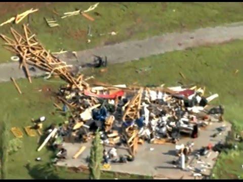 Norman, Oklahoma tornado damage
