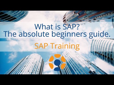 What is SAP - The Absolute Beginner's Guide
