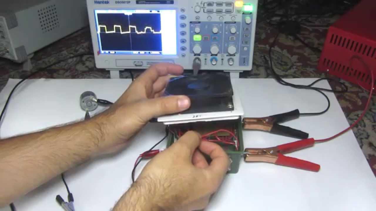 Dc Motor Speed Control Via Pulse Width Modulation Pwm Youtube Dcmotorbrakecircuit Lab 10 Interfacing To Picmicro