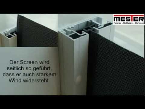 Sichtschutz Windschutz Sonnenschutz Als Zip Screen Von