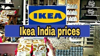IKEA HYDERABAD PRICES n first store first review | IKEA INDIA store products , price and review