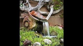 Фонтан своими руками в саду