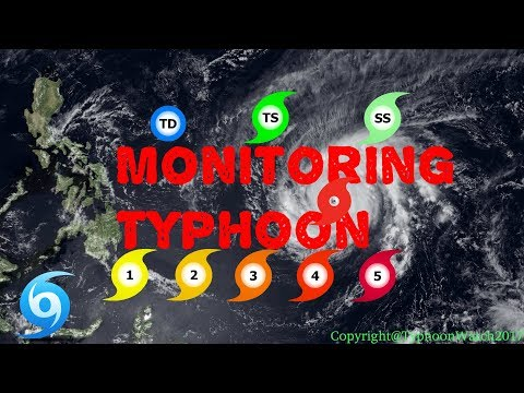 Monitoring Typhoon: Tropical Storm Talim (Future Lannie)