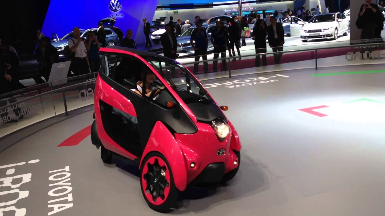 Toyota I Road Electric City Car Here S How It Leans