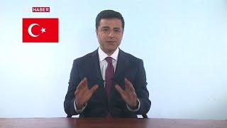 "Pro-Kurdish HDP presidential candidate S. Demirtaş: ""I"