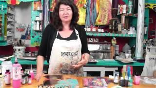 Schaffen Acryl Gel Skins mit High-Flow-Zeichnungen