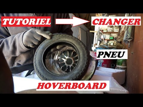 comment d monter et changer le pneu de son hoverboard tout terrain youtube. Black Bedroom Furniture Sets. Home Design Ideas