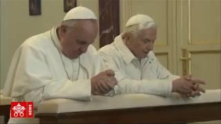 Lettera di Ratzinger per i 5 anni di pontificato di Papa Francesco
