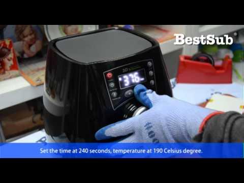 3D Mini Vacuum Sublimation Press