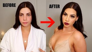 GET READY WITH ME: glam transformation♡