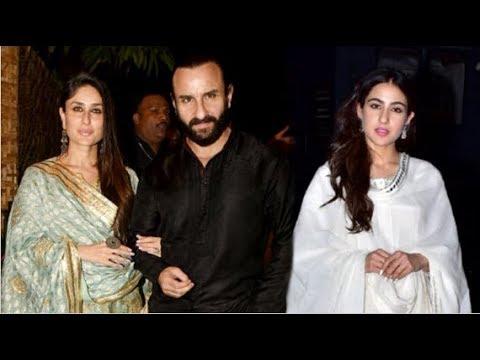 Kareena Kapoor & Saif Ali Khan ATTEND Daughter Sara Ali Khan's Kedarnath Movie Screening