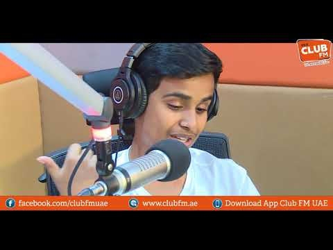 CLUB FM EXCLUSIVE   Rashed Belhasa Aka-Money Kicks on Life is Beautiful with RJ Puja